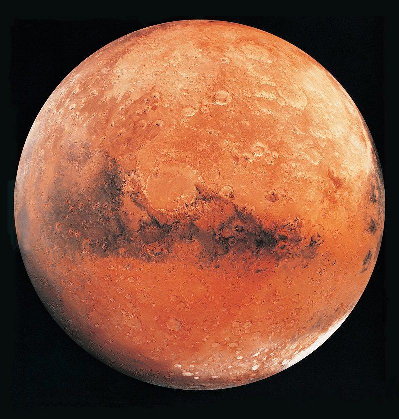 مریخ با تلسکوپ زمینی
