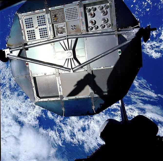 تصویر زمین از فضاپیمای ناسا