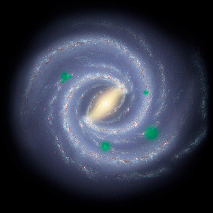 panspermia galaxy illustration