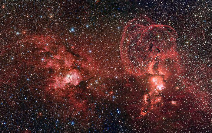 2-NGC-3603-NGC-3576