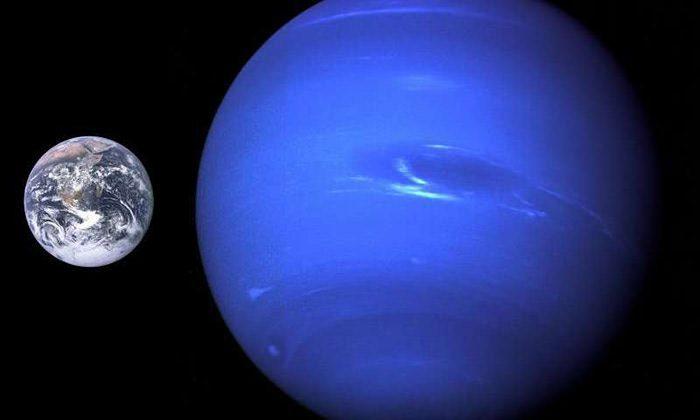 زمین و نپتون