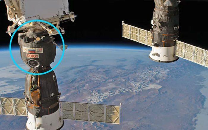 سوراخ در ایستگاه فضایی بین المللی ISS