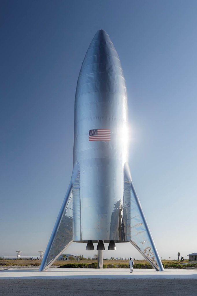 Starship Rocket / راکت استارشیپ