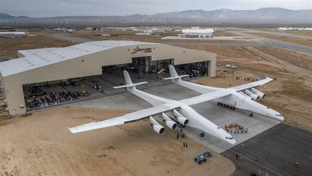 Stratolaunch airplane / هواپیمای استراتولانچ