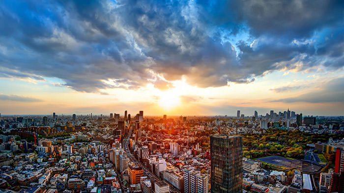 تماشای طلوع و غروب خورشید در شهرهای مختلف جهان