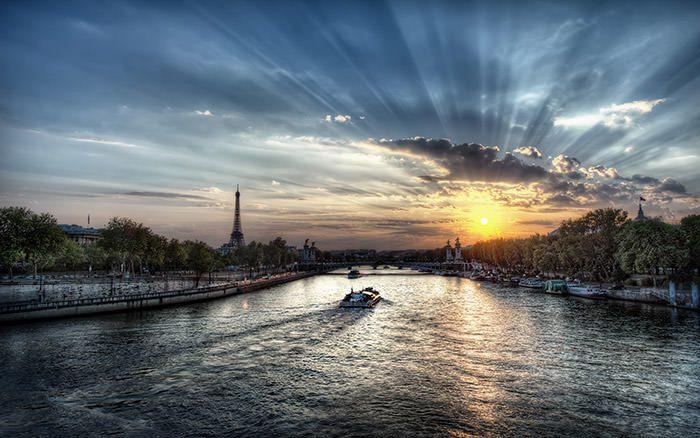 تماشای طلوع وغروب خورشید در شهرهای مختلف جهان