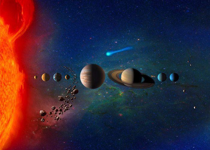 خارج شدن زمین از منظومه شمسی