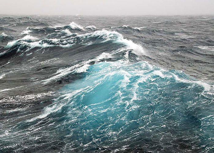 افزایش قدرت امواج اقیانوسها دراثرِ گرمایش زمین