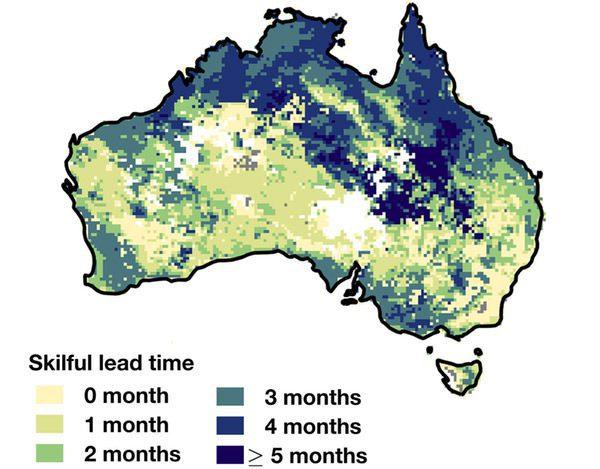 پیش بینی خشکسالی از چندین ماه قبل از وقوع آن به کمک تاثیرات جریانات اقیانوسی