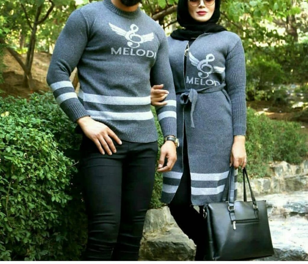 لباس زن و شوهری+بافت