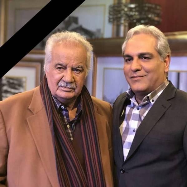 مدیری در کنار مرحوم ناصر ملک مطیعی