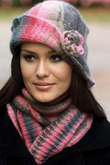 خاص ترین کلاه وشال زمستانی