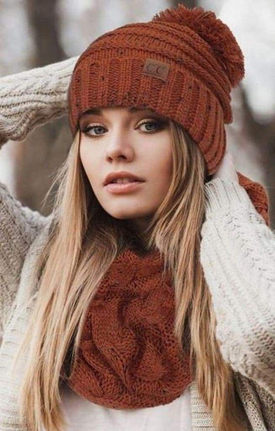 مدل های کلاه وشال زنانه