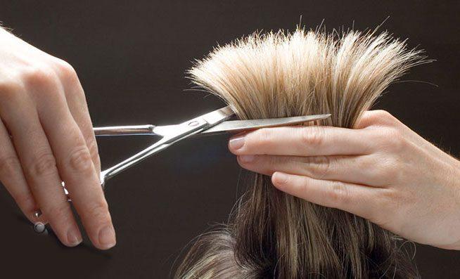 کوتاه کردن مو برای جلوگیری از موخوره