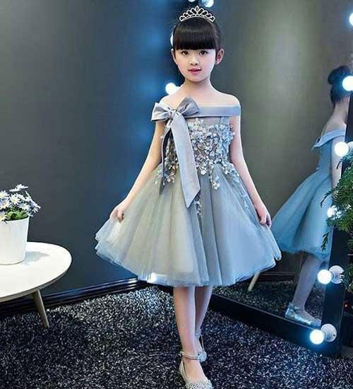 لباس مهمانی برای دختربچه ها - انواع پیراهن بچگانه
