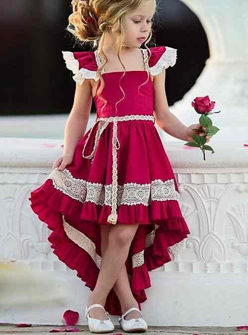 انتخاب رنگ لباس متناسب یا روحیه دختر بچه ها